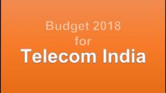 Budget2018_Telecom_India